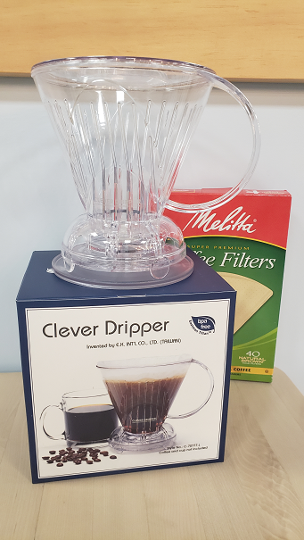 Clever Coffee Dripper and a 1 pack of 40 Cone Filters #4 <br>