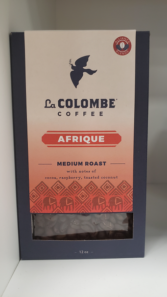 Medium roast with notes of cocoa, raspberry, and toasted coconut