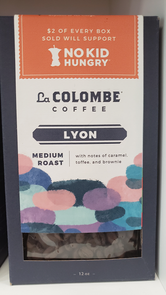 Medium roast with notes of caramel, toffee, and brownie