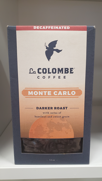 Darker roast with notes of hazelnut and sweet grain